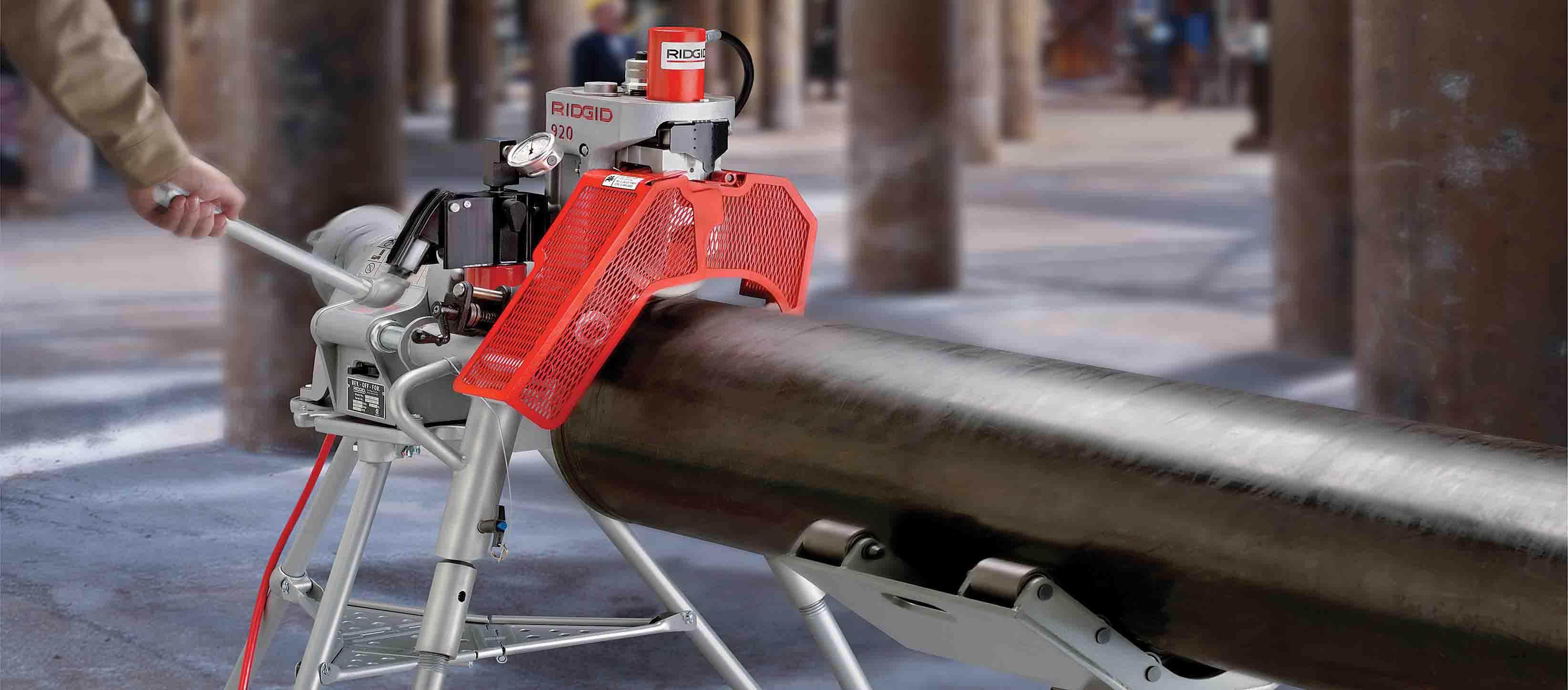 Herramientas RIDGID en Mexican Machinery Co.